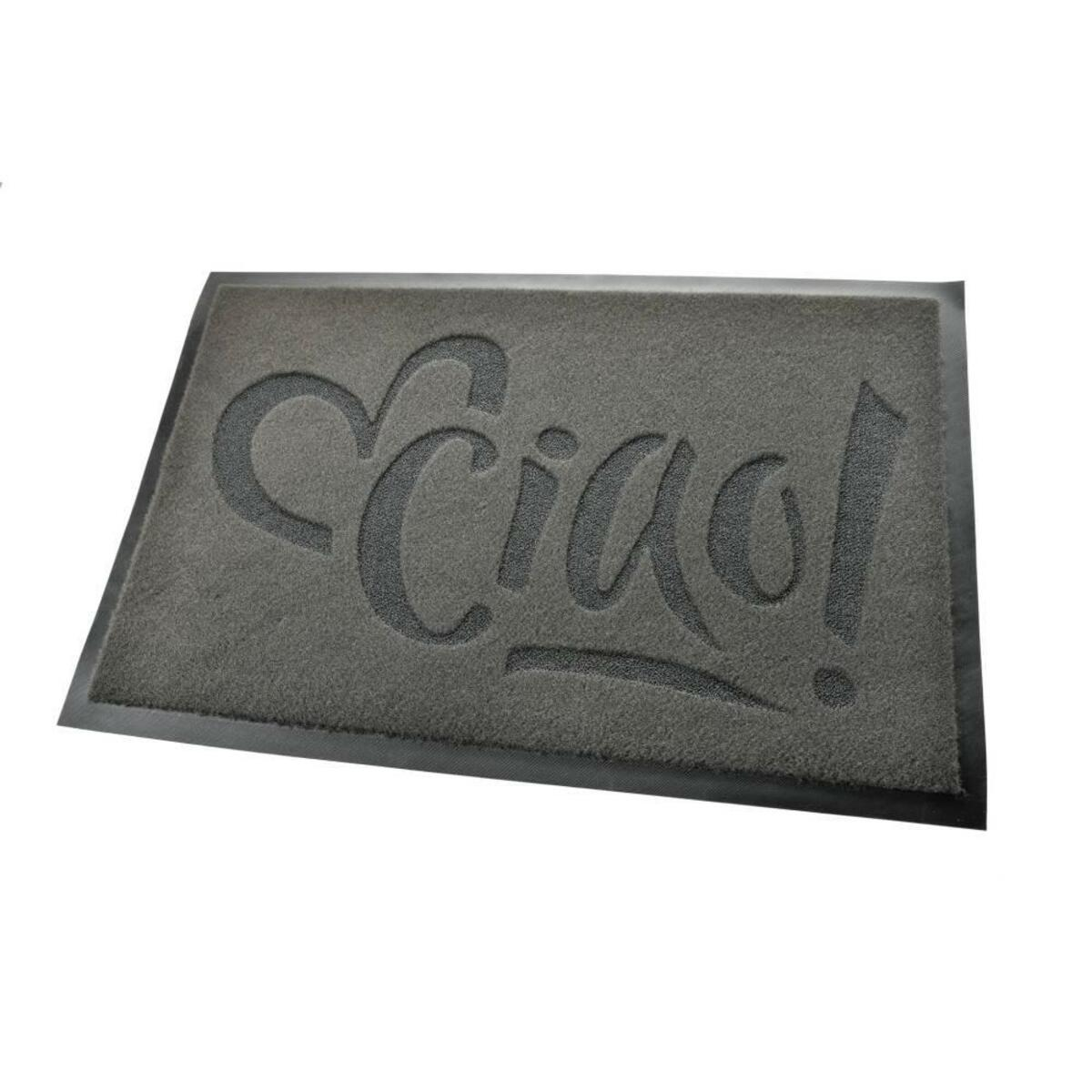 Bild 2 von acerto® Premium Fußmatte Schmutzfangmatte CIAO grau 40x60cm