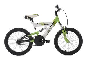 KS Cycling Kinderfahrrad 18'' Zodiac weiß-grün RH 33 cm