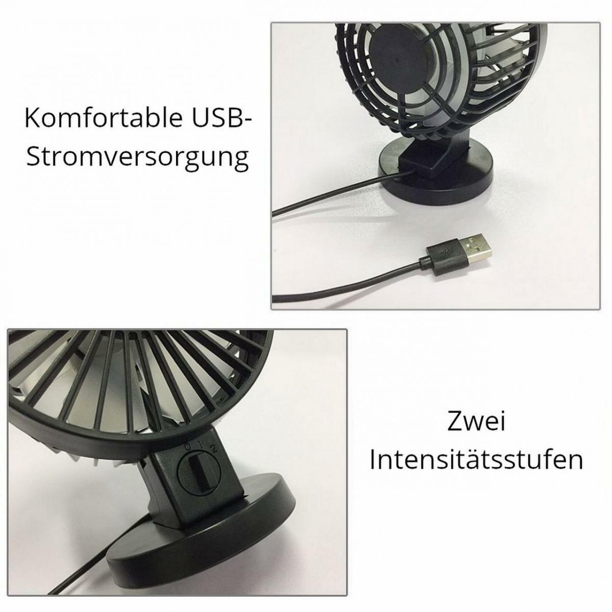 Bild 2 von LA VAGUE ZEPHYR Mini Ventilator USB