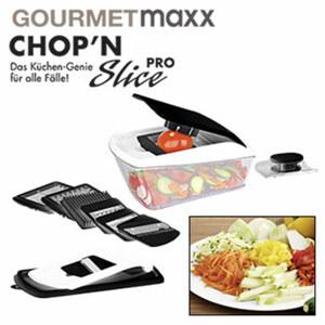 Chop ´n Slice Pro - Gemüseschneider zum Schneiden, Raspeln, Hobeln u. v. m.