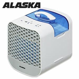 Mini-Luftkühler AIC 006 · 2 Leistungsstufen · 750-ml-Wassertank für bis zu 4 Stunden Kühlleistung