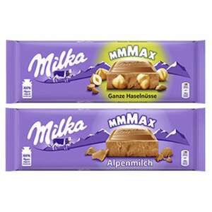 Milka Schokolade versch. Sorten, jede 250/270/276/300-g-Tafel