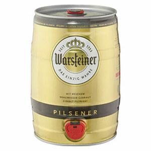 Warsteiner Premium Pilsener jede 5-Liter-Dose