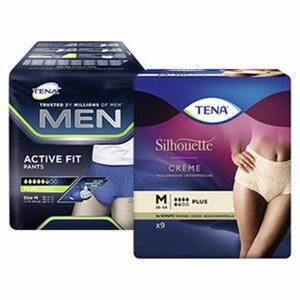 Tena Silhouette oder Men Active Fit Pants, versch. Größen, jede Packung