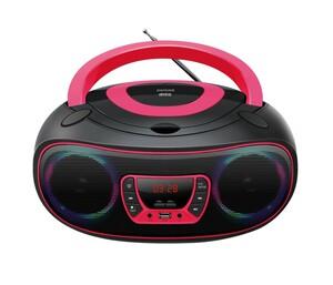 Denver Boombox TCL-212BT, Schwarz-Pink