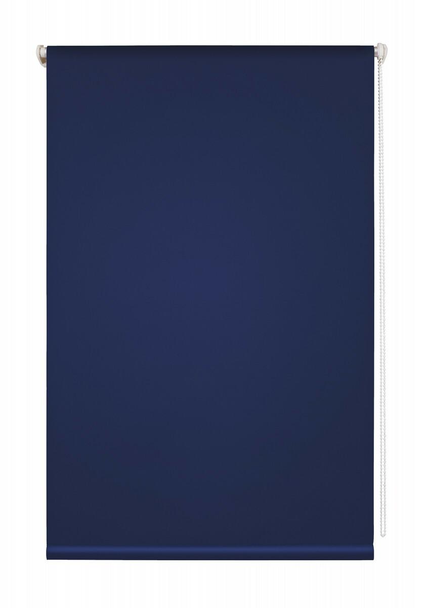 Bild 1 von Lichtblick Thermo-Rollo Klemmfix, ohne Bohren, Verdunkelung - Blau, 80 cm x 150 cm (B x L)