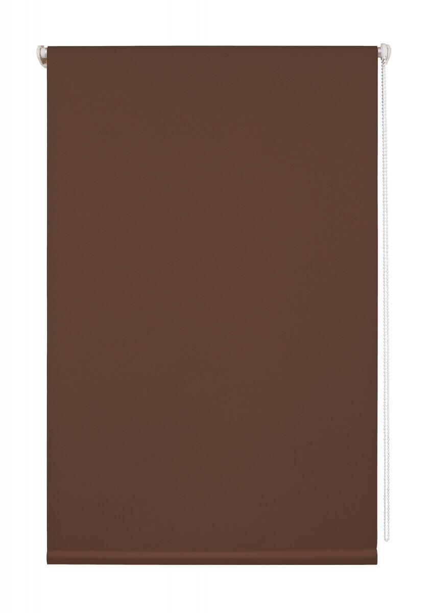 Bild 1 von Lichtblick Thermo-Rollo Klemmfix, ohne Bohren, Verdunkelung - Braun, 100 cm x 150 cm (B x L)