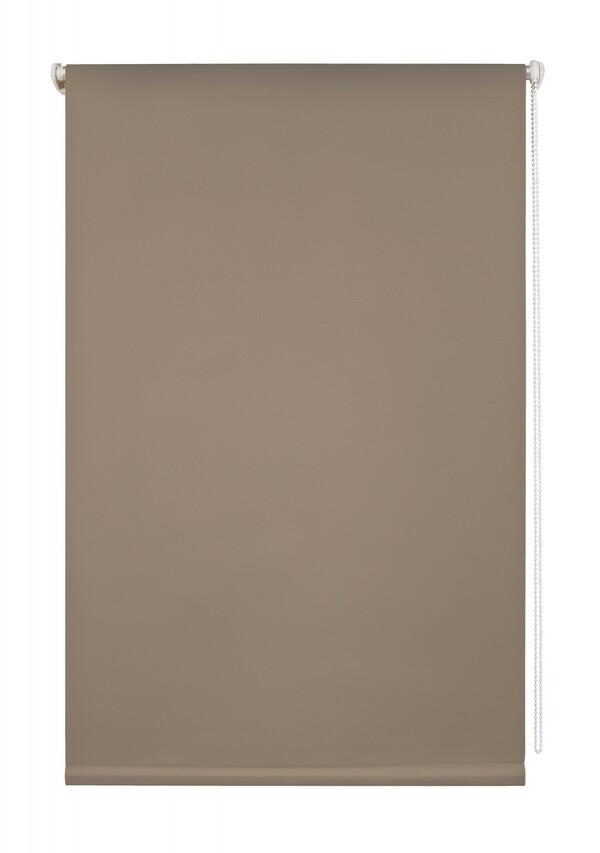 Lichtblick Thermo-Rollo Klemmfix, ohne Bohren, Verdunkelung - Taupe, 90 cm x 220 cm (B x L)