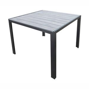 Gartentisch Nonwood 90x90 cm mit anthrazitem Aluminiumgestell