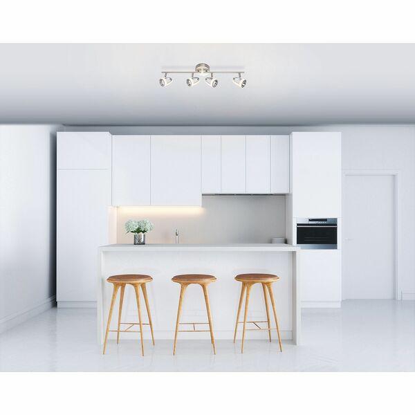 home24 LED-Deckenleuchte Rodrik I