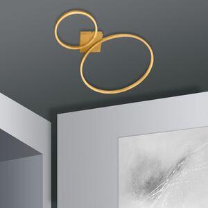 home24 LED-Deckenleuchte Siena