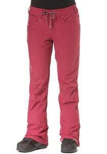 Roxy Woodrun - Snowboardhose für Damen - Rot