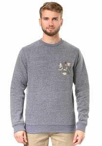 Quiksilver Buckmann - Sweatshirt für Herren - Blau