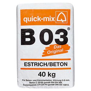 Quick-Mix Estrichbeton B 03