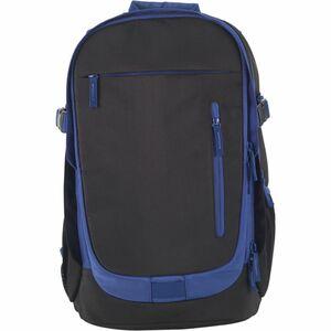 Staples Erweiterbarer Rucksack, Schwarz/ Blau