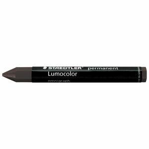 STAEDTLER Lumocolor Permanent Omnigraph 236 Universalkreide Schwarz, 12er-Pack