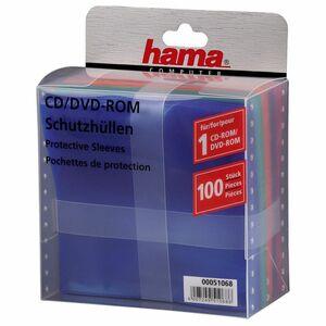 Hama CD-Hülle, PP, für: 1 CD/DVD, sortiert