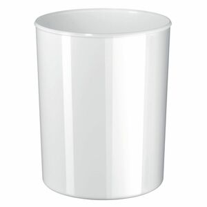 Han Papierkorb i-Line, für Innenbereich, Kunststoff, rund, 20 l, 283 x 340 mm, weiß, glänzend