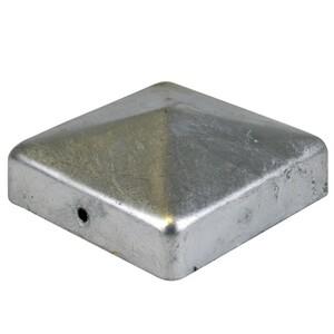 Pfostenkappe 100 x 100 mm aus Stahl verzinkt