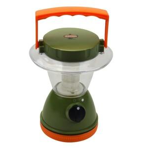 Campinglampe grün/orange Campinglaterne Campingleuchte Tischlampe Zeltlampe