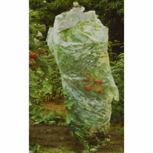 Frühbeetfolie 0,65x10m 1Stck. transparent gelocht Tomaten Schlauch Gartenfolie