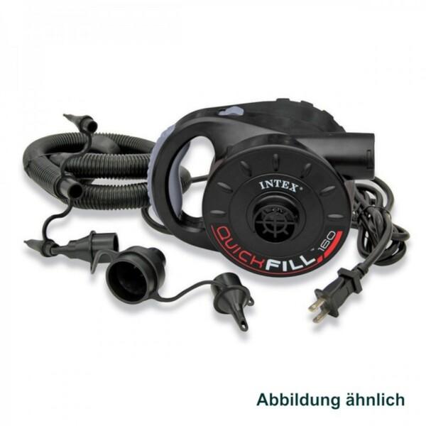 Intex Luftpumpe elektrisch 230V 200W Quick Fill Gebläsepumpe Elektropumpe