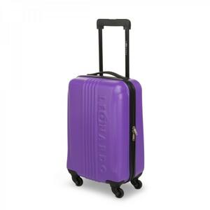 Trolley violett ABS Hartschale Cabin Size Handgepäck Reisetrolley Reisekoffer