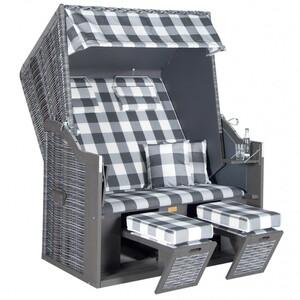 Strandkorb Rustikal 30 Z XL onix 2-Sitzer