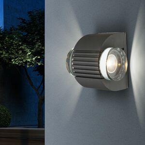 home24 LED-Aussenleuchte Lissy I