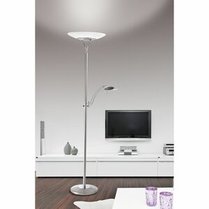 home24 LED-Stehleuchte Luxor