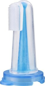 Reer Fingerzahnbürste mit Hygienebox, 5,6 cm