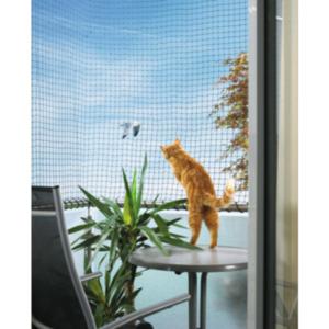 AniOne Katzenschutznetz mit Drahtverstärkung