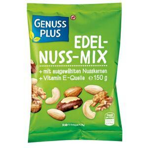 GENUSS PLUS Edel-Nuss-Mix 1.06 EUR/100 g