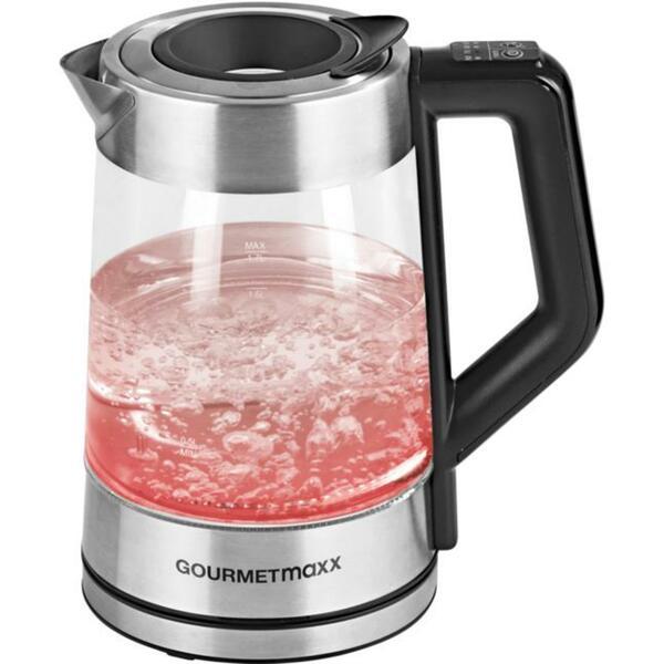 GOURMETmaxx Glas-Wasserkocher Smart 1,7 l