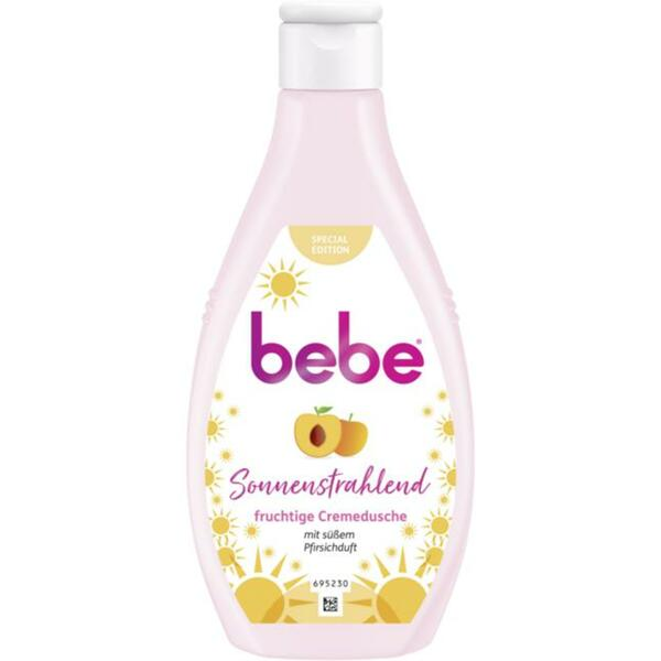 bebe® fruchtige Cremedusche Sonnenstrahlend 0.42 EUR/100 ml