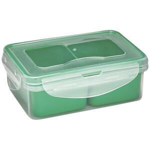IDEENWELT 3er Set Frischhaltedosen grün