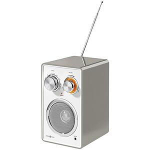 IDEENWELT Küchenradio taupe
