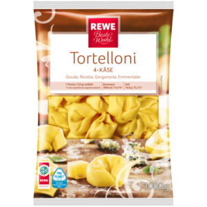 REWE Beste Wahl 4-Käse-Tortelloni 1kg