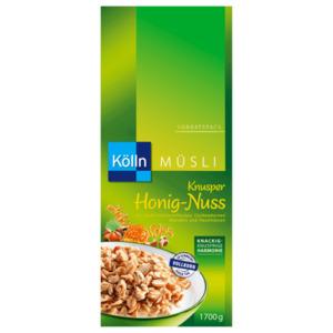 Kölln Müsli Knusper Honig-Nuss Vorratspack 1,7kg