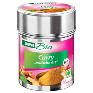 REWE Bio Curry Indische Art 45g