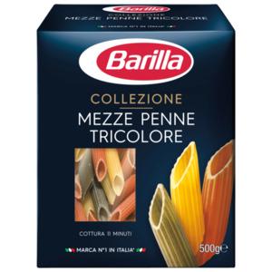 Barilla Pasta Nudeln Mezze Penne Tricolore 500g