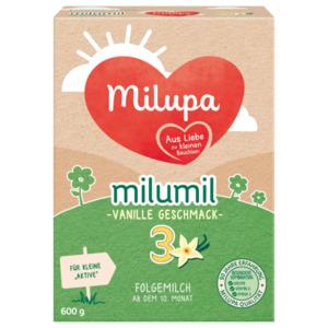 Milupa Milumil 3 Vanille Geschmack Folgemilch ab dem 10. Monat 600g