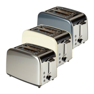 QUIGG  	   Metall-Toaster