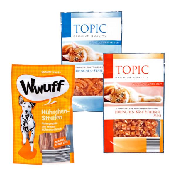 Wwuff Topic Snack Von Aldi Nord Ansehen