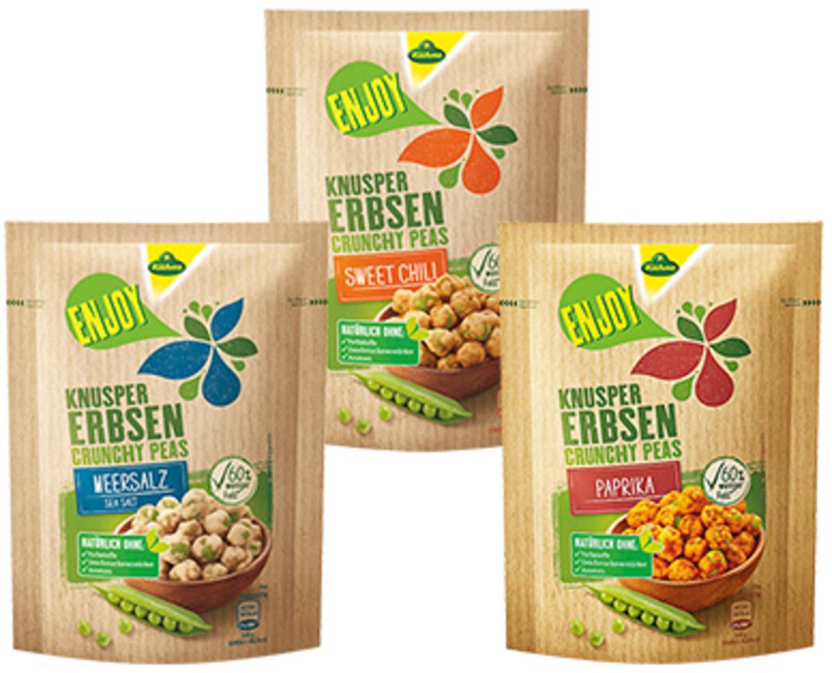 Bild 2 von Kühne Gemüsechips oder Knuspererbsen