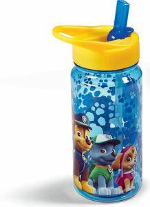 Trinkflasche mit Strohhalm - Paw Patrol boy