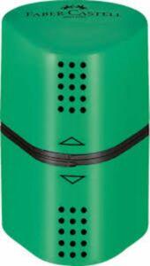 Faber Castell -  Dreifachspitzdose - grün