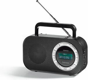 Lenco Tragbares FM-Radio mit RDS und USB PR2700