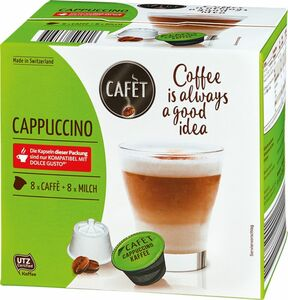 Cafet, Dolce Gusto Cappuccino 16 ST / 168,8 g