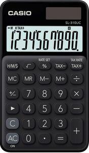 Casio Taschenrechner - schwarz